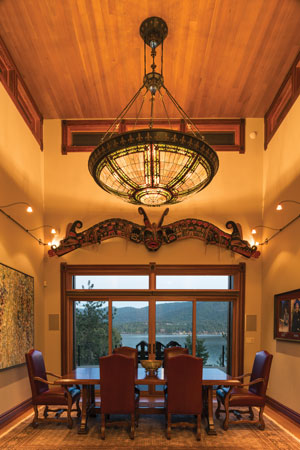 custom light fixture in coeur d'alene